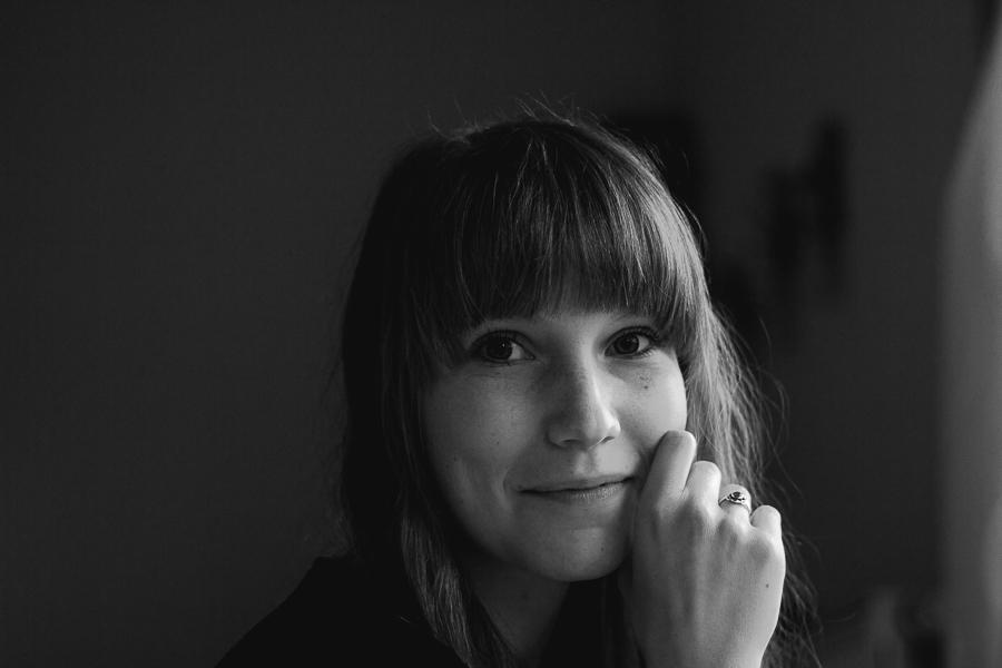 Schwarzweiß Portrait