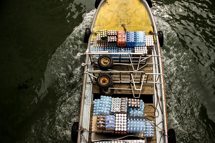 Venedig Transportboot