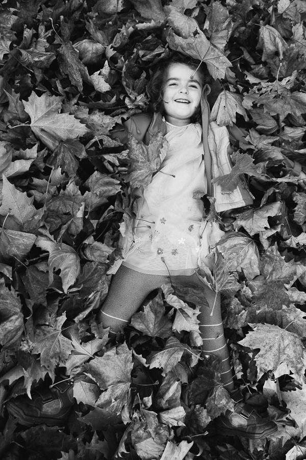 Familienfoto Herbst